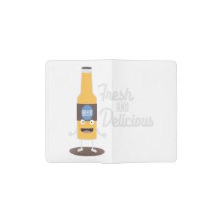 Beerbottle fresh and delicious Zdm8l Pocket Moleskine Notebook