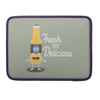 Beerbottle fresh and delicious Zdm8l Sleeve For MacBook Pro