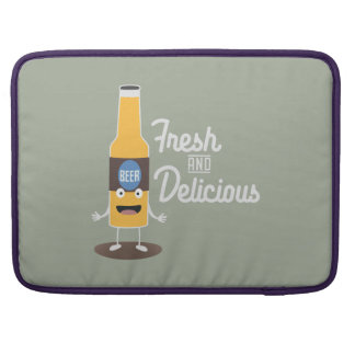 Beerbottle fresh and delicious Zdm8l Sleeve For MacBooks