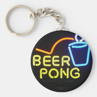 beerpong key ring