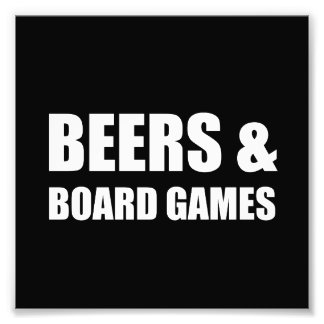 Beers And Board Games Photo