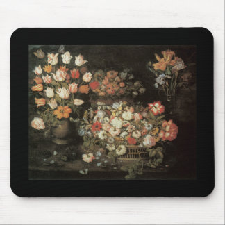 Beert the Elder Flowers in a Vase Mouse Pad