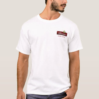 Beerwise Low Life (Burgundy) T-Shirt