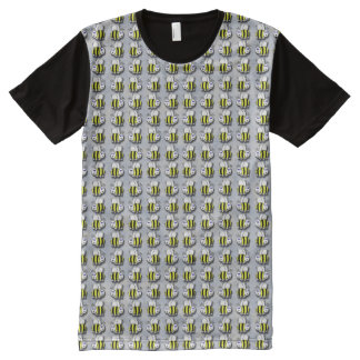 Bees All-Over Print T-Shirt