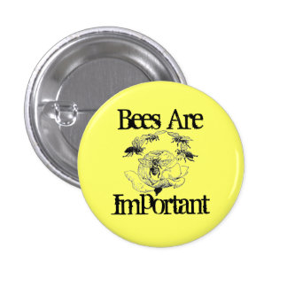Bees Are Important button