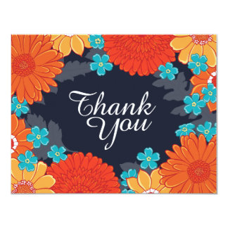 Bees & Blossoms Thank-You Card