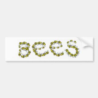 Bees Bumper Sticker
