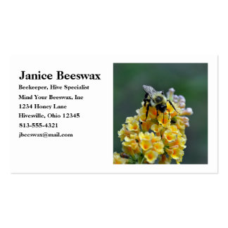Bees Business Card Standard Business Cards