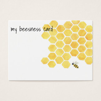 Bees business card!