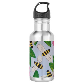 Bees & Flowers Water Bottle 532 Ml Water Bottle
