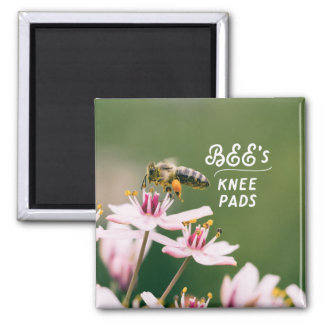 Bee's Knee Pad Magnet