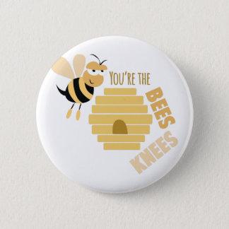 Bees Knees 6 Cm Round Badge