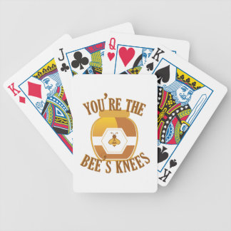 Bees Knees Bicycle Playing Cards