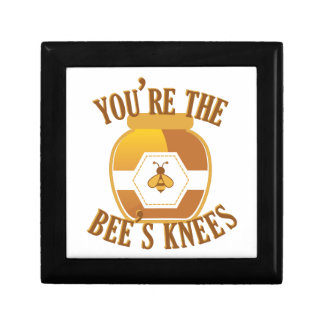 Bees Knees Small Square Gift Box