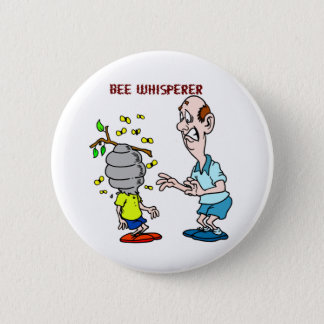 Bees Lovers Bee Whisperer Bumblebee 6 Cm Round Badge