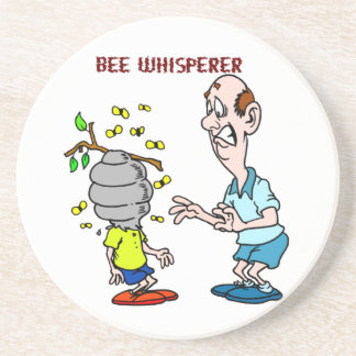 Bees Lovers Bee Whisperer Bumblebee Coaster