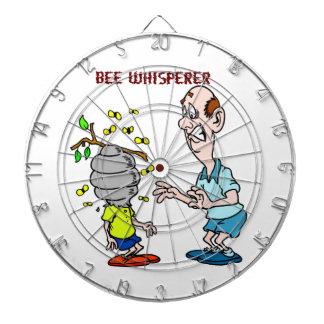Bees Lovers Bee Whisperer Bumblebee Dartboard