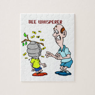 Bees Lovers Bee Whisperer Bumblebee Jigsaw Puzzle