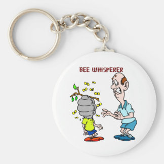 Bees Lovers Bee Whisperer Bumblebee Key Ring