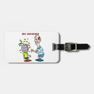Bees Lovers Bee Whisperer Bumblebee Luggage Tag