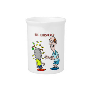 Bees Lovers Bee Whisperer Bumblebee Pitcher