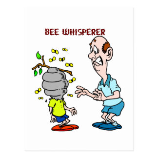 Bees Lovers Bee Whisperer Bumblebee Postcard
