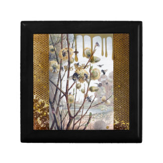 Bees Matter Small Square Gift Box