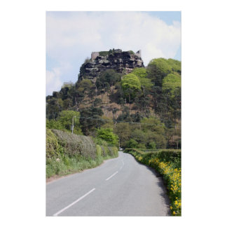 Beeston Castle View Poster