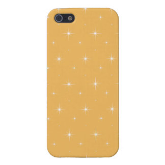Beeswax-And-Bright-Stars-iPhone 5-Casses-Pattern Case For iPhone 5/5S