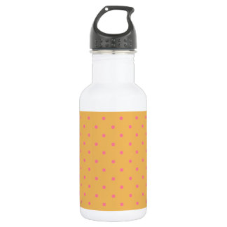Beeswax And Pink Polka Dots 532 Ml Water Bottle