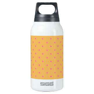 Beeswax And Pink Polka Dots 10 Oz Insulated SIGG Thermos Water Bottle