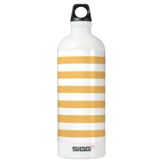 Beeswax Color And White Stripes SIGG Traveller 1.0L Water Bottle