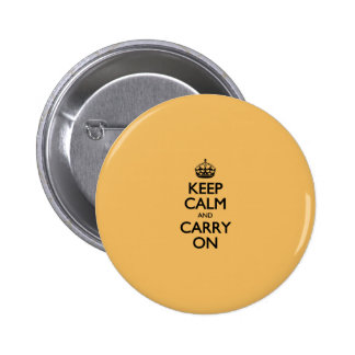Beeswax Color Keep Calm And Carry On Button