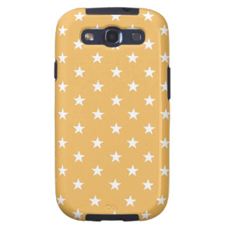 Beeswax Fashion Color And White Stars Galaxy SIII Cases