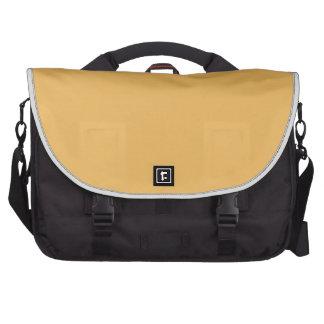 Beeswax Orange Yellow  Elegant Fashion Color Laptop Messenger Bag