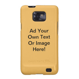 Beeswax Solid Color - Customizable Samsung Galaxy S2 Covers