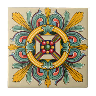 Beeswax Victorian Tile Design