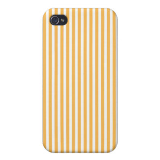 Beeswax Yellow Fashion Stripe iphone Case iPhone 4 Cases