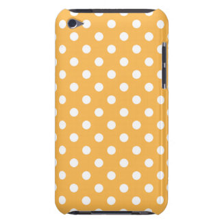 Beeswax Yellow Polka Dot iPod Touch G4 Case