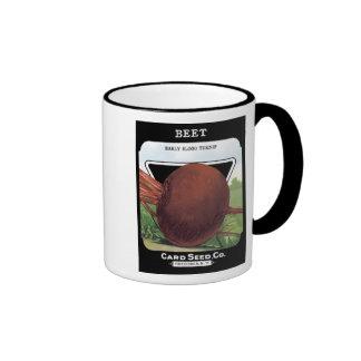 Beet Early Blood Turnip Ringer Mug