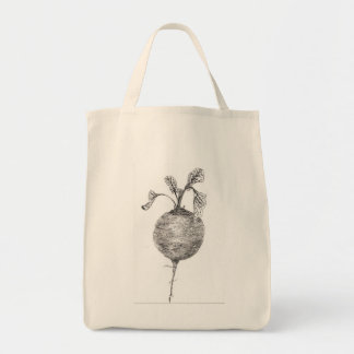 Beet it to the grocery store grocery tote bag