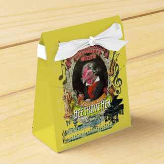 Beethovehen Great Animal Composer Beethoven Hen Favour Box
