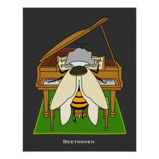 Beethoven - 16 x 20 Poster