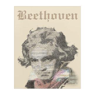 Beethoven Acrylic Wall Art