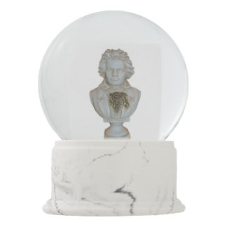 Beethoven Bust Snow Globe