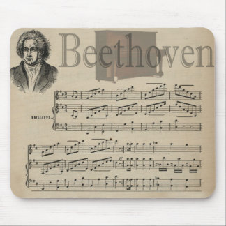 Beethoven Classic Music Gift for Music lovers Mouse Pad