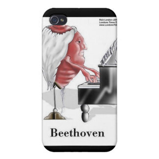 Beethoven Funny Gifts Mugs Cards Etc iPhone 4/4S Case