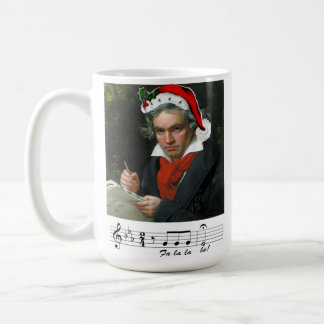 Beethoven Holiday Mug