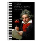 Beethoven Humour Birthday Card