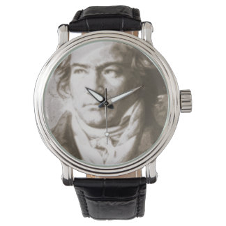 Beethoven In Sepia Watch
